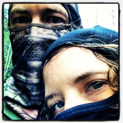 Bogachiel River, November 19, 2012, New balaclavas!