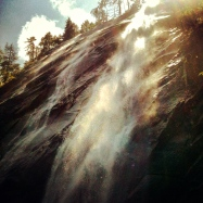 Bridal Veil Falls, July 29, 2012, 8.2 miles, 2000 ft