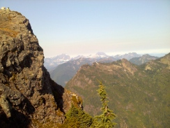 Mt Dickerman, September 16, 2012, 8.6 miles, 3875 ft