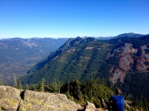 Mailbox Peak, October 7, 2012, 6 miles, 4100 ft