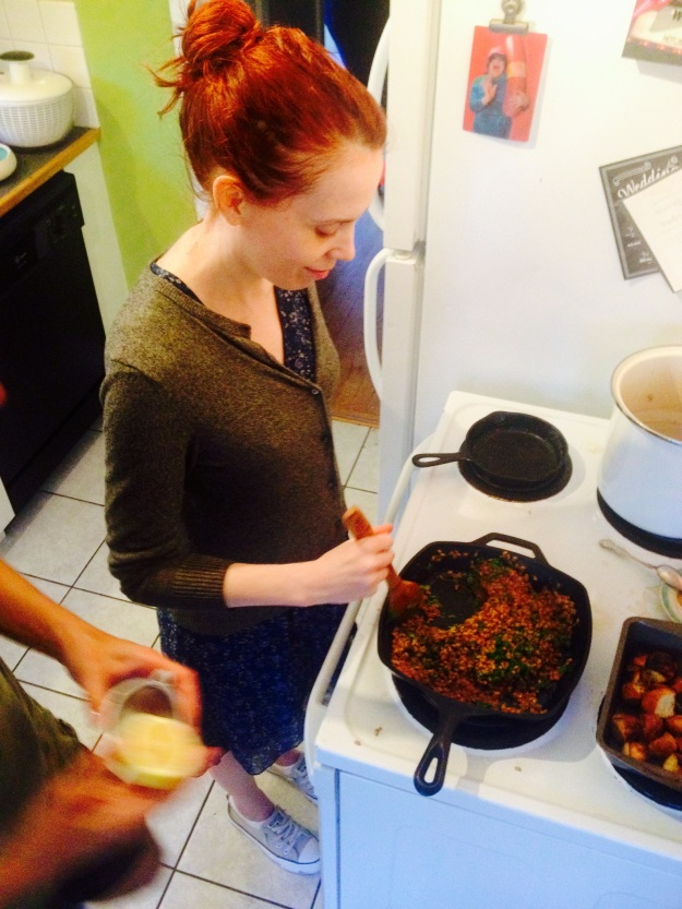 Erin's turn to stir