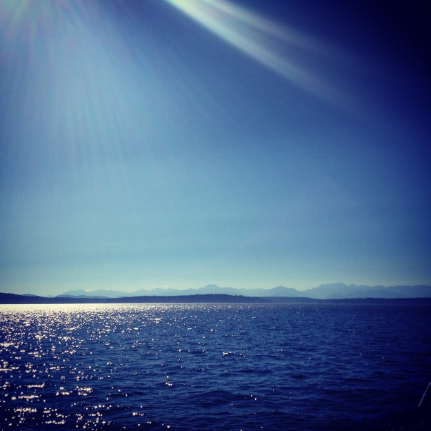 Olympics via Ferry