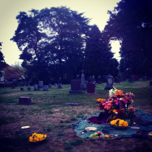 New Mystics video shoot in Lakeview cemetery