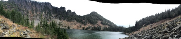 Panorama of Lake 22 - photo by dk