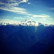 Glacier Peak wilderness from a side trip to Miner Ridge
