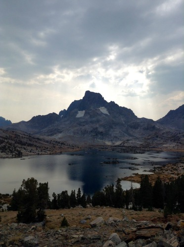 1000 Islands Lake, at the divergence of the John Muir Trail and the PCT in Yosemite National Park